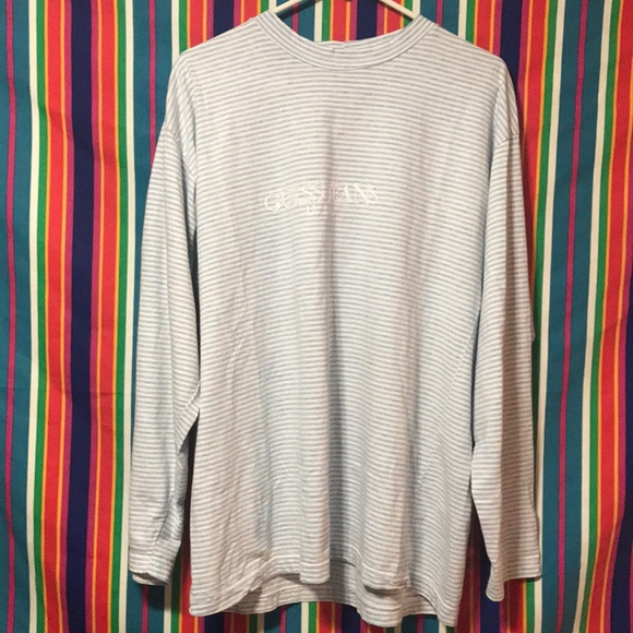 3e82b49c Guess by Marciano Other - 80's vintage striped guess jeans L/s by Marciano